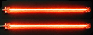 Logisys Dual Cold Cathode Fluorescent Lamp (Red)