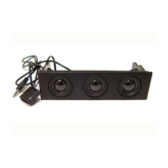 Logisys FP308BK 5.25 Bay Mesh Front 3 Speaker Panel