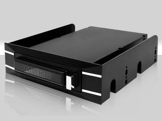 Mukii TIP-M255ST-BK 2.5in SATA HDD Int/Ext Enclosure