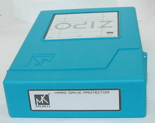 Mukii ZIO-P010-BL ZIPO 3.5in HDD Protection Storage  (Blue)