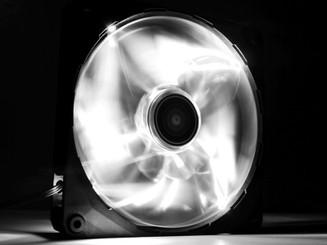 NZXT RF-FZ140-W1 Airflow 140mm White LED Case Fan