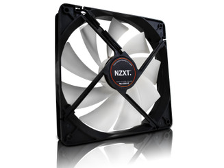 NZXT FX 140LB 140x140x25mm 9 Blade Sleeved Cable Fan