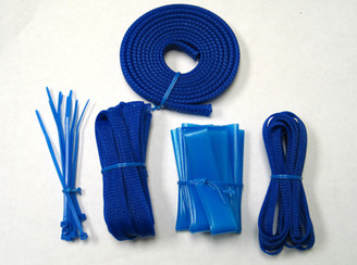 Okgear Blue Cable Sleeving Kit
