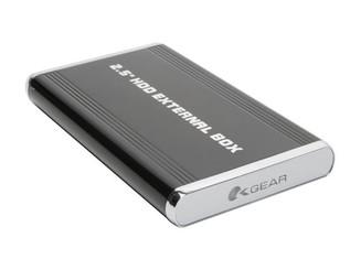 Okagear OK250AU2S1-K MINI 2.5in SATA to eSATA/USB2.0 ALUMINUM EXTERMAL ENCLOSURE