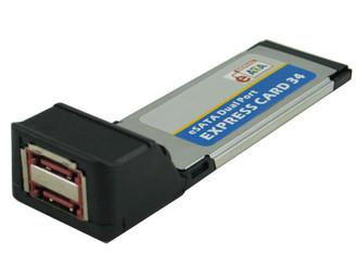 Okgear OK2165  Dual eSATA Express card w/ 2.5in SATA Enclosure