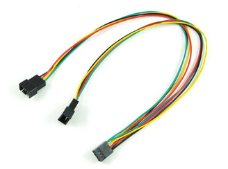 12inch 4PIN PWM FAN Y CABLE