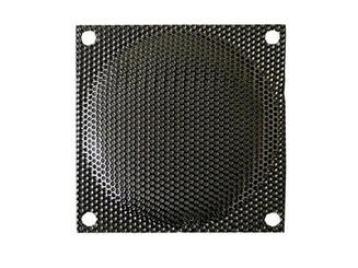 80mm Steel Mesh Fan Filter (Guard), Black