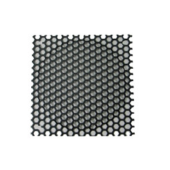 140mm Honeycomb Steel Mesh Fan Filter (Guard), Black