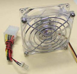 GALAXY CRYSTAL Ballbearing CASE FAN W/ FAN GUARD (80x80x25mm)