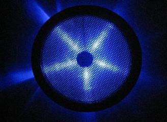 Rexflo 250mm Silent Case Fan w/ Blue LEDs
