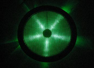 Rexflo 250mm Silent Case Fan w/ Green LEDs