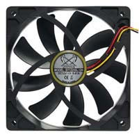 Scythe Kaze-Jyuni 120mm Case Fan,SY1225SL12SH,1900 rpm