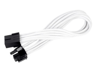 Silverstone SST-PP07-PCIW (White) 1 x 8pin to PCI-E 8pin(6+2) Connector Cable