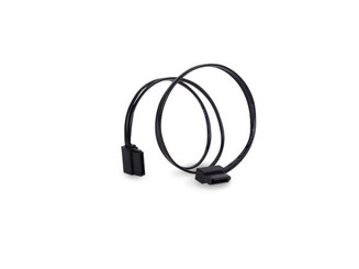 Silverstone SST-CP11B-300 (Black) Low Profile Ultra Thin 90 Deg 6Gb/s SATA Cable