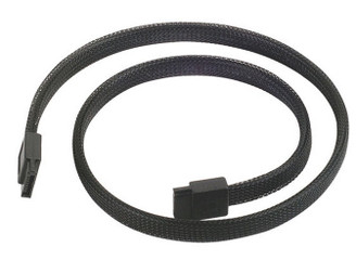 Silverstone CP07 SATA III 180 to 180 Deg 500mm Non-scratch Cable