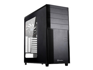 Silverstone SST-KL04B-W (black+window) Kublai Series Mid Tower Case