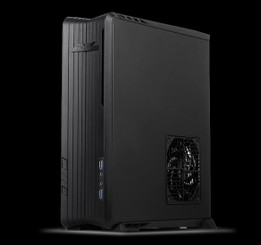 Silverstone SST-RVZ01B (black) DTX, Mini-ITX Steel Body Desktop Case