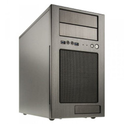 Silverstone SST-TJ08T-E (Titanium) Advanced Micro-ATX Tower Case