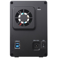 Silverstone SST-DS322 Dual 3.5in SATA HDD USB3.0 RAID Enclosure