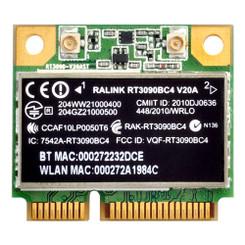 Silverstone SST-ECW01 WIFI/Bluetooth Mini PCI-E Module