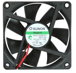 Sunon KDE1207PHV1 70x70x15mm MagLev Cooling Fan, 4Pin