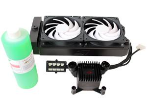 Swiftech H2O-220-Elite Dual 120mm Water Cooling Kit