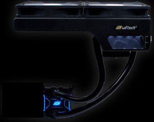 Swiftech H240-X CPU Liquid Cooling KiT w/ Dual 140mm Copper Radiator