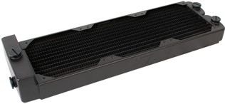 Swiftech MCR320-QP-RES-R2 MCR320-QP Triple 120mm Radiator w/ Reservoir