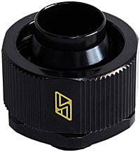 Swiftech 3-4X1-2-G1-4-CF-BK (Black) 1/2in x 3/4in Lok-Seal� Compression Fitting