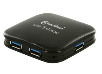 Syba CL-HUB20126 USB 3.0 4-port Pocket Size Hub (Black)