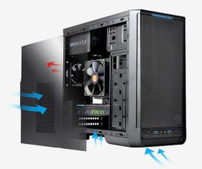 Thermaltake CA-1A8-00M1NN-00 Urban S1 Micro Case
