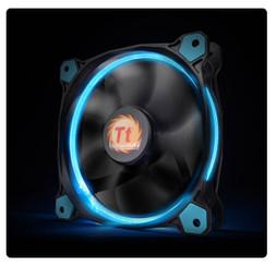 Thermaltake CL-F038-PL12BU-A Riing 12 High Static Pressure Blue LED Radiator Fan