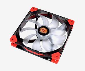 Thermaltake CL-F023-PL14WT-A Luna 14 LED White 140x140x25mm Fan, 3Pin