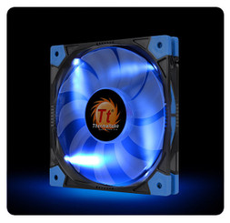 Thermaltake CL-F036-PL14BU-A Luna 14 Slim LED Blue Fan