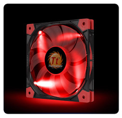 Thermaltake CL-F036-PL14RE-A Luna 14 Slim LED Red Fan