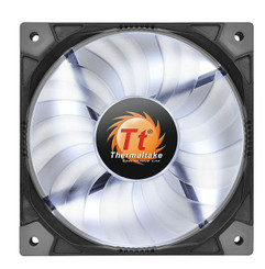 Thermaltake CL-F036-PL14WT-A Luna 14 Slim LED White Fan