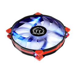 Thermaltake CL-F024-PL20BU-A Luna 20 LED Blue Anti-vibration 200mm Fan