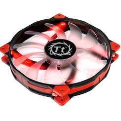 Thermaltake CL-F025-PL20RE-A Luna 20 LED Red Anti-vibration 200mm Fan