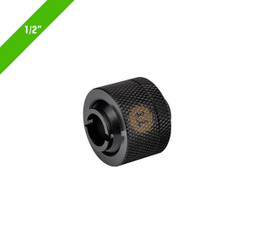 Thermaltake CL-W031-CA00BL-A Pacific 1/2in ID x 5/8in OD Compression � Black