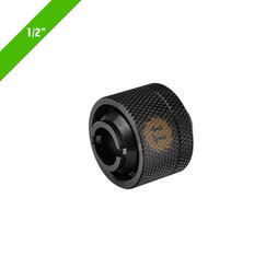 Thermaltake CL-W030-CA00BL-A  Pacific 1/2in ID x 3/4in OD Compression � Black