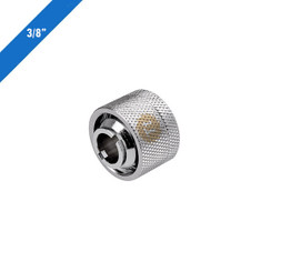 Thermaltake CL-W032-CA00SL-A Pacific 3/8in ID x 5/8in OD Compression � Chrome