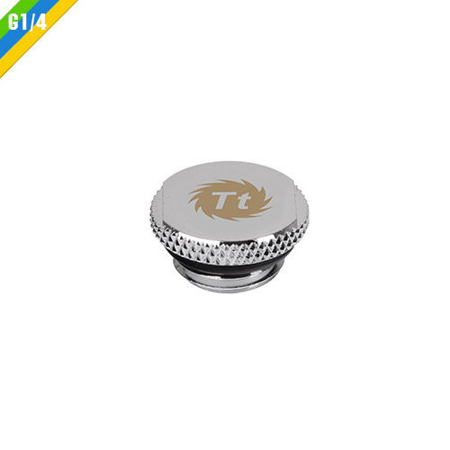 Thermaltake CL-W035-CU00BL-A Pacific G1//4 Stop Plug w// O-Ring � Black