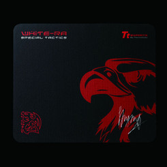 Thermaltake EMP0008SMS White-RA Special Tactics Gaming Mouse Pad (Black)