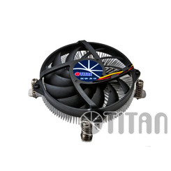 Titan DC-155A915Z/RPW Intel CoreI5,I3 Low Profile CPU Cooler for HTPC Case
