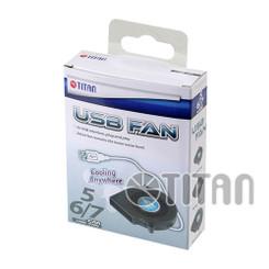 Titan TFD-B6015M05Z DC5V USB 60x15mm Blower Fan