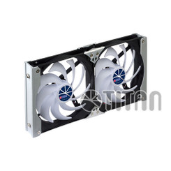 Titan TTC-SC09TZ/B Muti-Purpose Rack Fan (120 mm Dual Fan)
