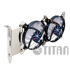 Titan TTC-SC07TZ Adjustable Dual Fan PCI Slot VGA Cooler