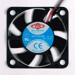 Top Motor DF124010BL-3G 40x40x10mm Dual Ball bearing Fan, 3Pin