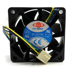 TOP MOTOR DF126025BH-PWMG 60x60x25mm PWM Fan, 4PIN PWM