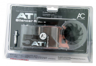 Arctic Cooling AVC-AT5R2 ATI Silencer 5 Rev. 2 VGA Cooler
